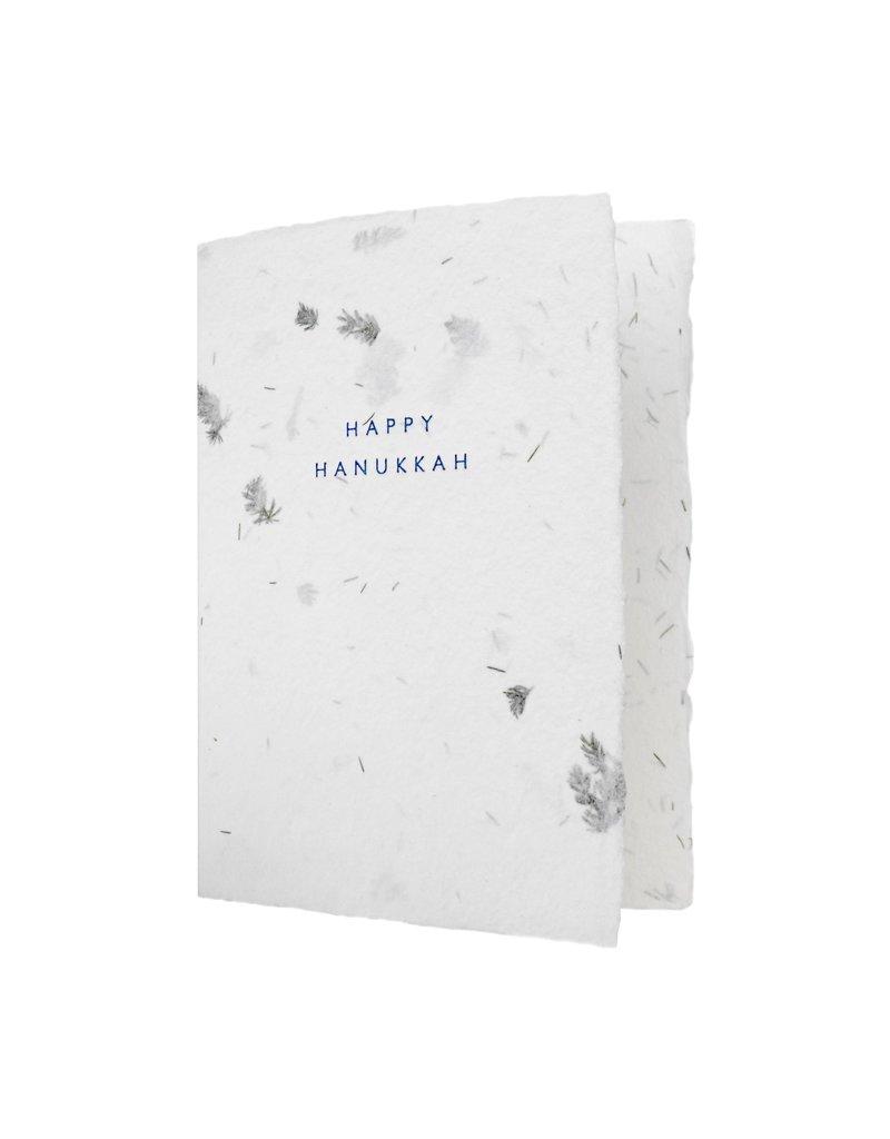 Oblation Papers & Press Fern Happy Hanukkah Box of 6