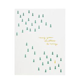 Ramona & Ruth Christmas Be Merry Card Box of 6