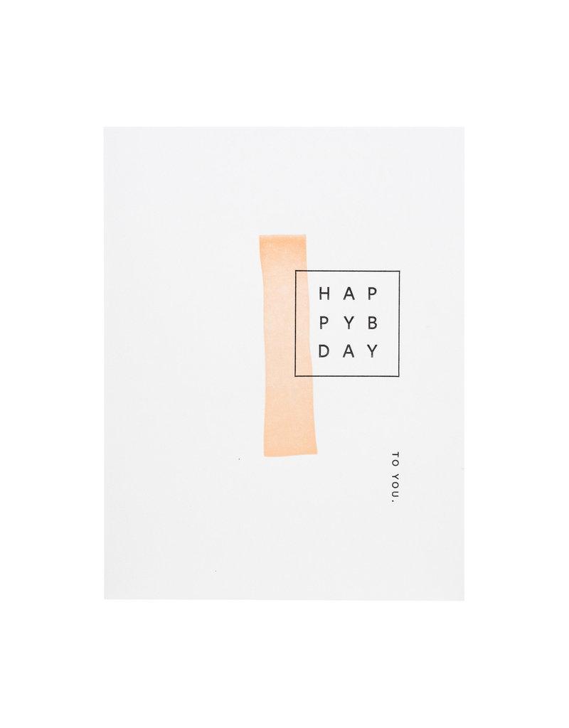 Ramona & Ruth Happy Bday Mod Card
