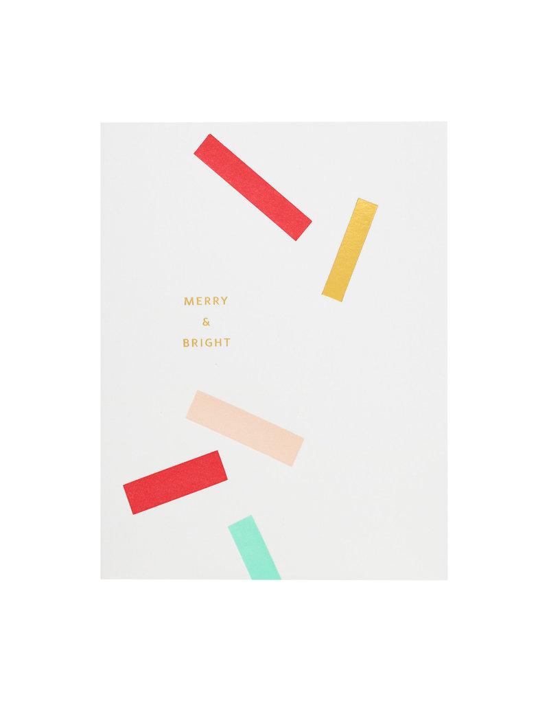 Ramona & Ruth Merry & Bright Confetti Card