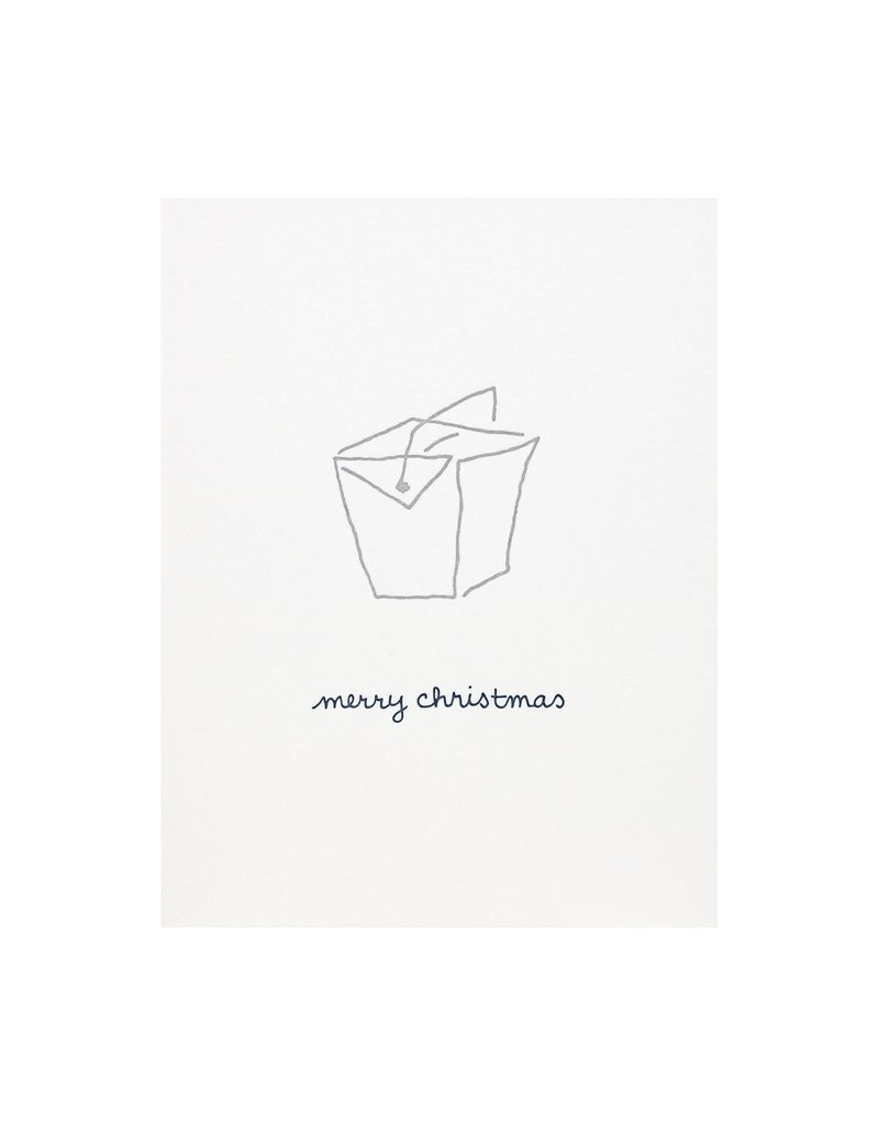 Albertine Press Merry Christmas Take Out Card