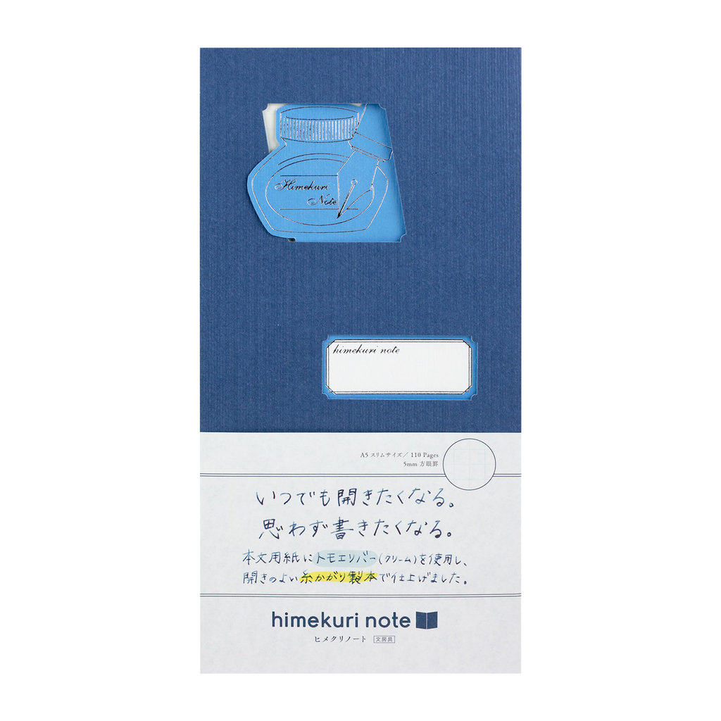 Himekuri Notebook Stationery Pen Ink
