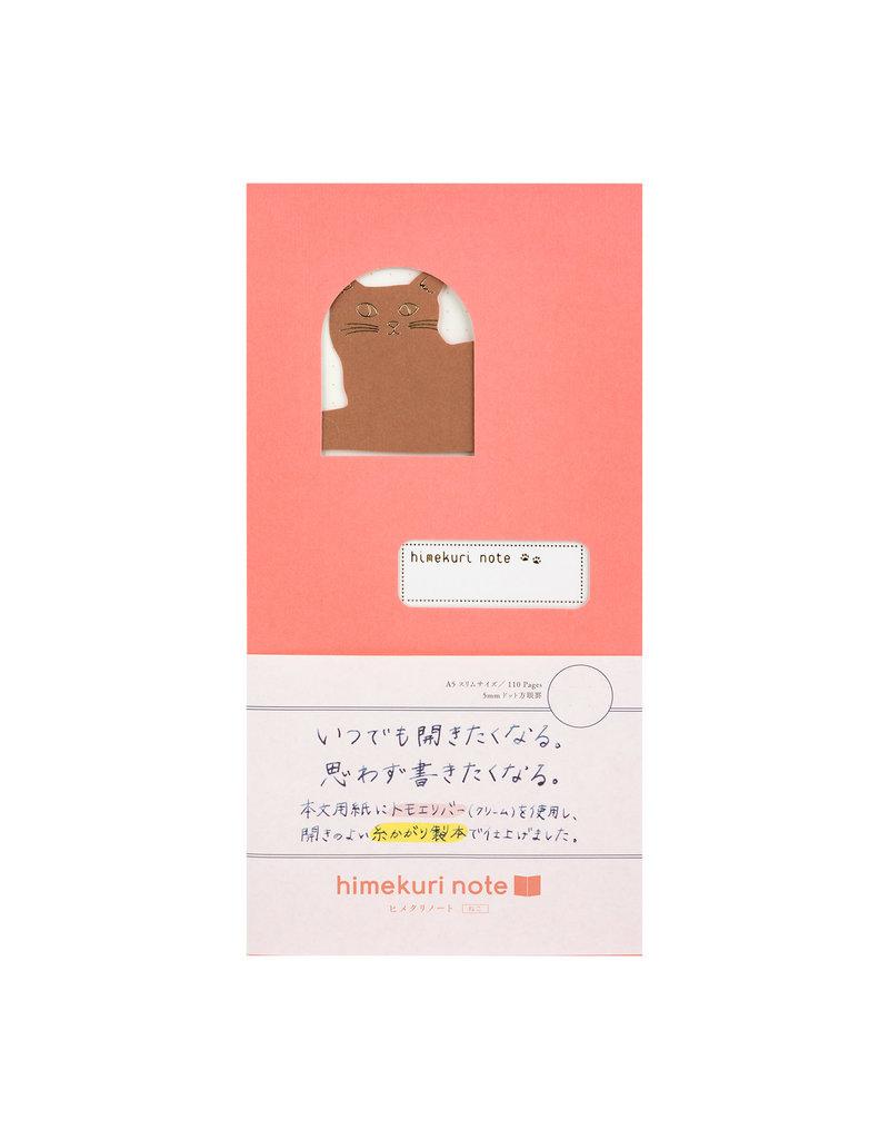 Himekuri Notebook Cat