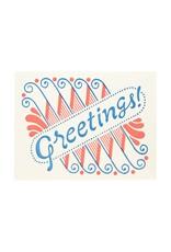 Greetings Letterpress