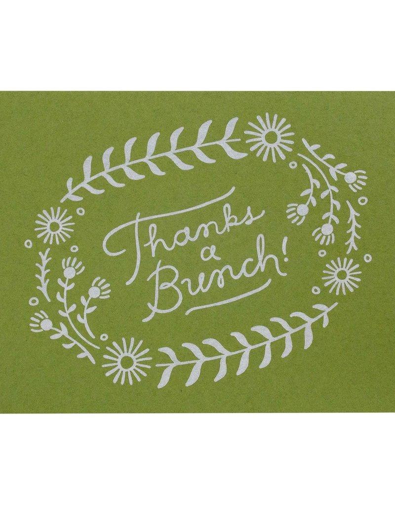 Thanks a Bunch Letterpress