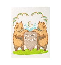 Ilee Papergoods Bears Happy Birthday