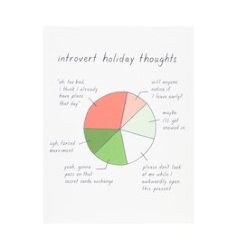 Little Goat Paper Co. Introvert Holiday Thoughts