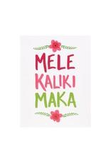 Mele Kalikimaka box of 6