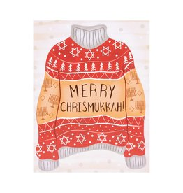Merry Christmasukkah Ugly Sweater box of 6