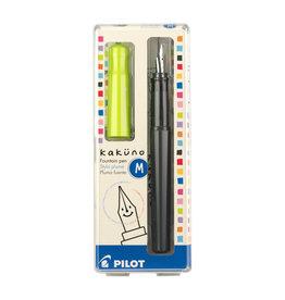 Pilot Kakuno Fountain Pen - Lime Medium