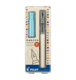 Pilot Kakuno Fountain Pen - Turquoise Fine