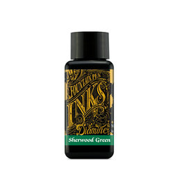 Diamine Diamine Sherwood Green Bottled Ink