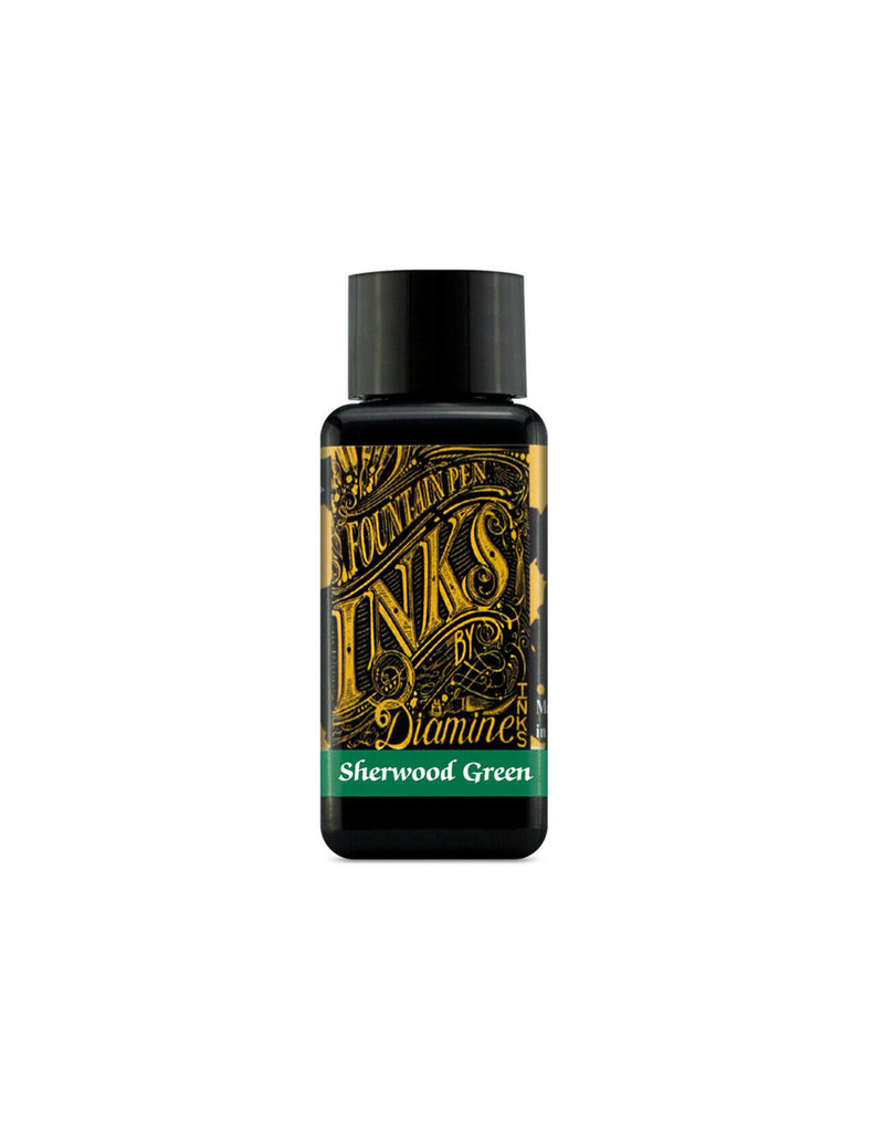 Diamine Diamine Sherwood Green Bottled Ink