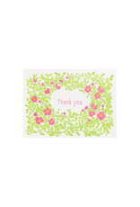 Ilee Papergoods Wild Roses Thank You box of 6