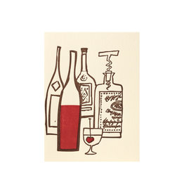 Ilee Papergoods Drinks Letterpress Card