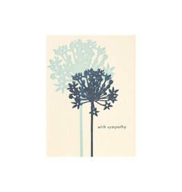 Ilee Papergoods Allium Sympathy