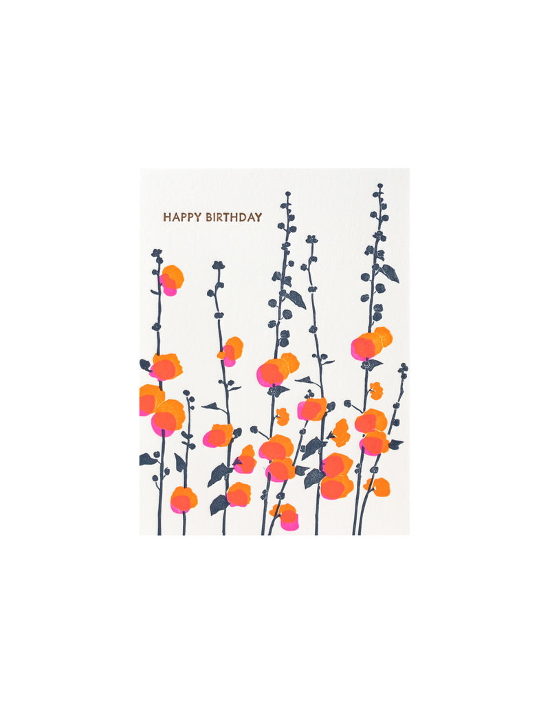 Ilee Papergoods Hollyhock Birthday
