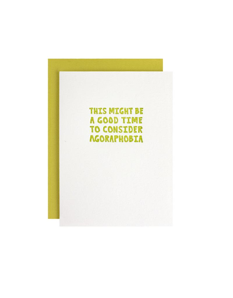 HWG consider agoraphobia