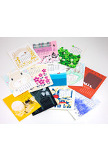 Ilee Papergoods 2021 Letterpress Desk Calendar