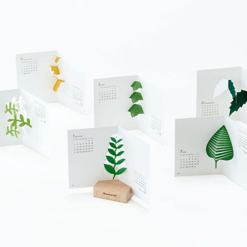 Botanical Life Pop-Up Calendar 2021
