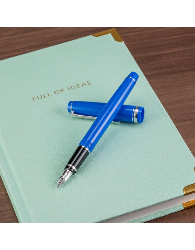 Pilot Pilot Falcon Resin Blue Fine Fountain Pen