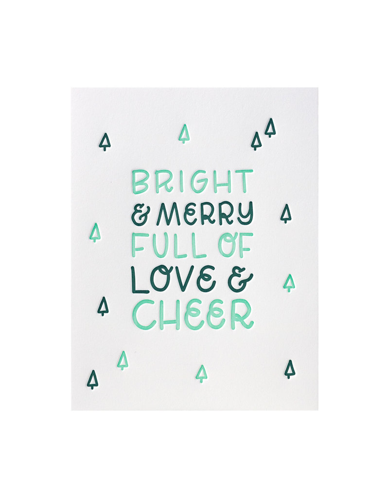 Ink Meets Paper Full of Love and Cheer