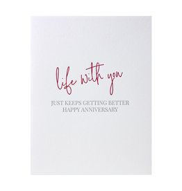 Carina Paper Co. Life With You Card