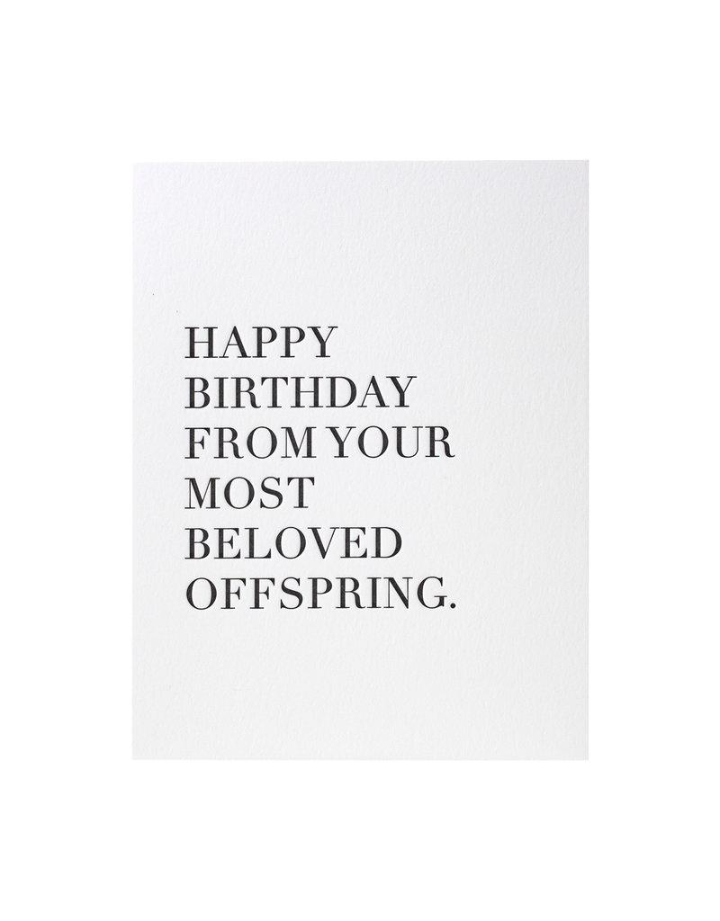 Beloved Offspring Birthday