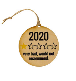 Christmas 2020 Rating Ornament