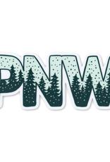 Pike Street Press Snowy PNW Sticker