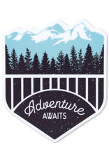 Pike Street Press Adventure Awaits Sticker