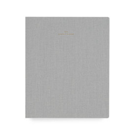 Appointed 2021 Monthly Planner Dove Grey