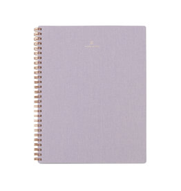 Appointed Notebook Lavender Gray Lined