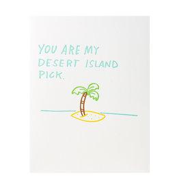 Iron Curtain Press You Are My Desert Island Pick
