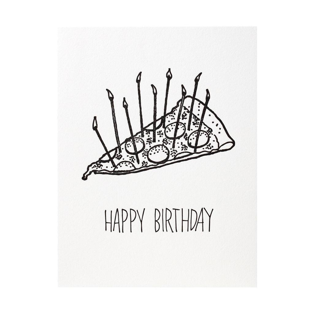 Iron Curtain Press Pizza Birthday