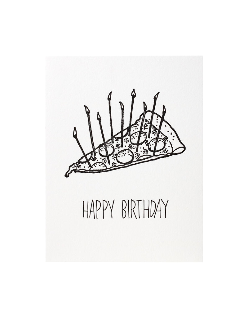 Iron Curtain Press Pizza Birthday