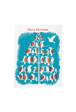 Ilee Papergoods Birds Merry Christmas Box of 6