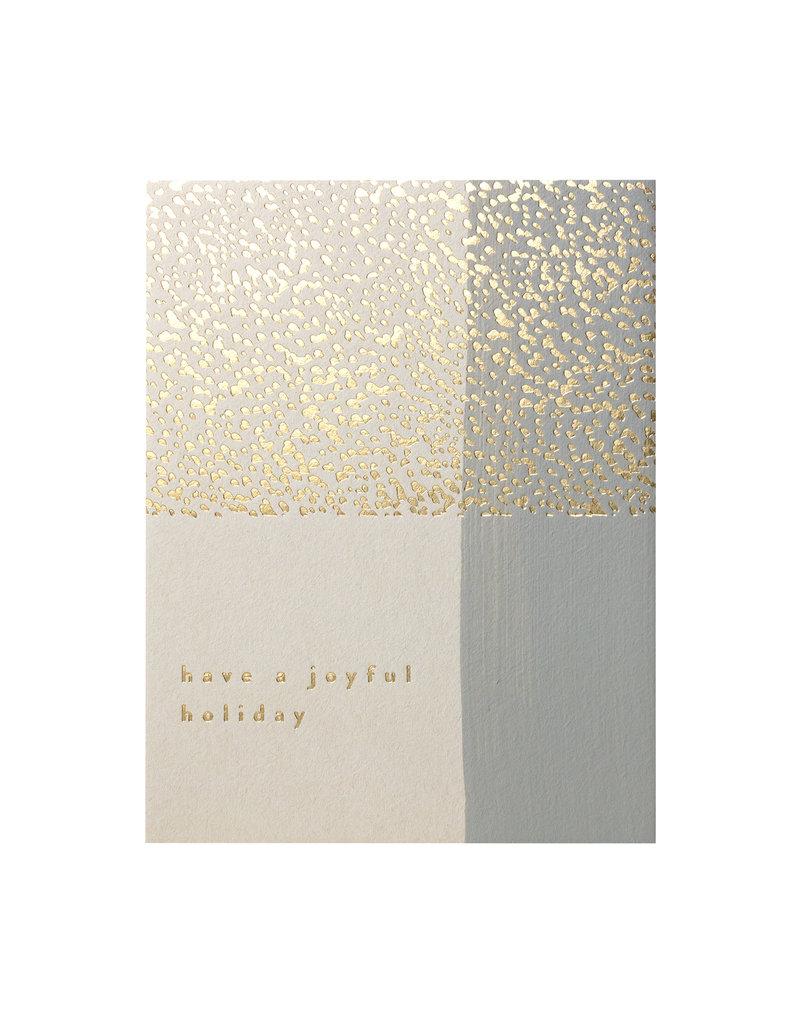 Moglea Gold Joyful Holiday