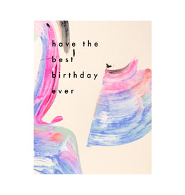 Moglea Candy Birthday Card