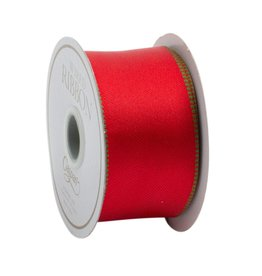 Caspari Red & Green Reversible Ribbon - 8 yds