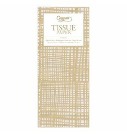 Caspari Raffine Gold Tissue Paper Package 4 Sheets