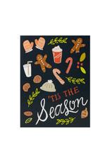 9th Letterpress Tis The Season