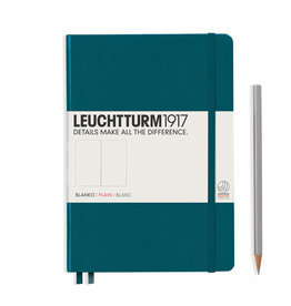 Leuchtturm A5 Pacific Green Hardcover Notebook Blank