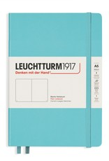 Leuchtturm A5 Aquamarine Hardcover Notebook Blank
