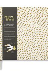 You're Here! Keepsake Baby Book