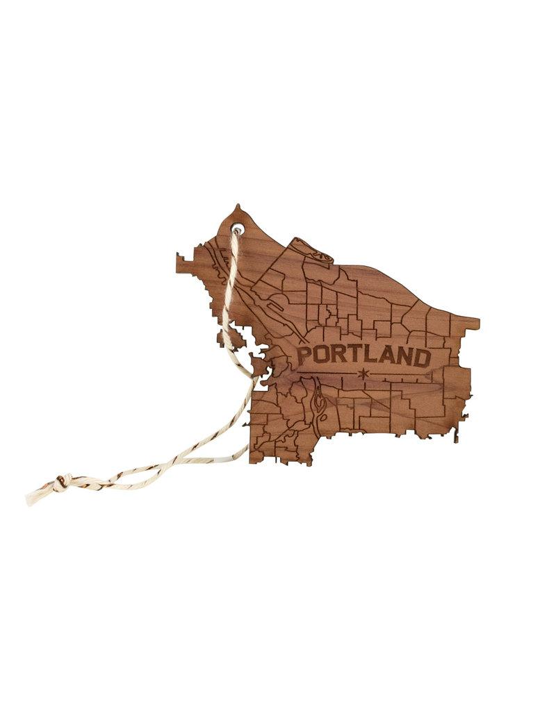 Portland Wooden Ornament