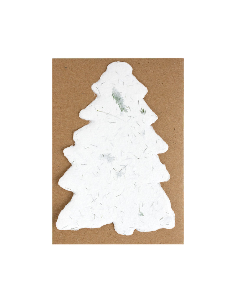 Oblation Papers & Press handmade paper evergreen fern