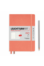 Leuchtturm 2021 A5 Bellini Softcover Weekly Planner & Notebook