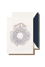 Crane Engraved Juniper Berry Wreath Boxed Cards
