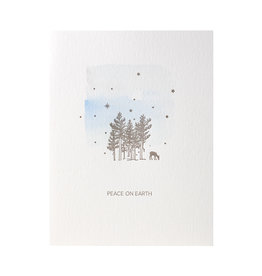 Lark Press Deer Peace on Earth box of 6